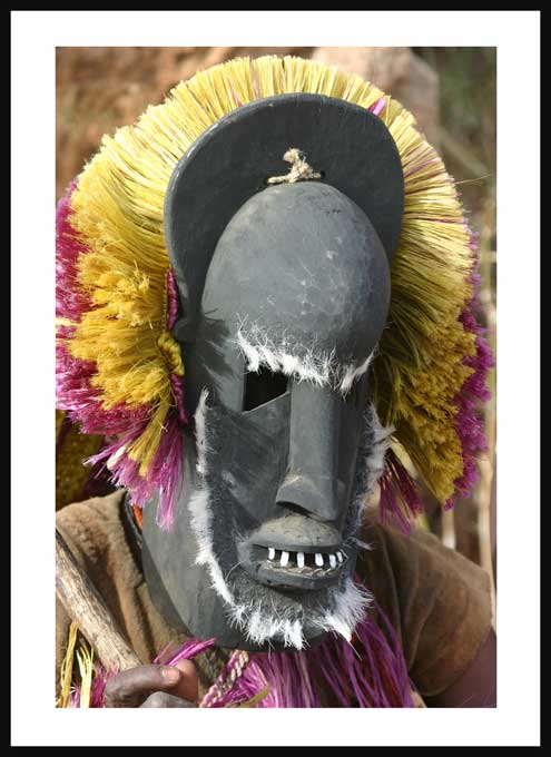 Masque de cérémonie Dogon