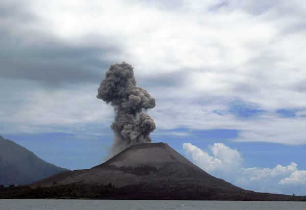 Eruption du Krakatoa