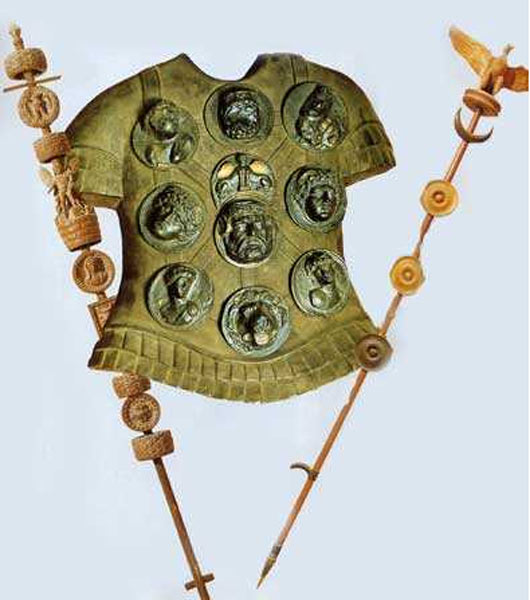 L gion romaine en images dinosoria for Decoration romaine