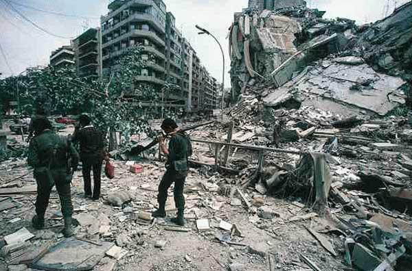 La guerre du liban (1975-1990)